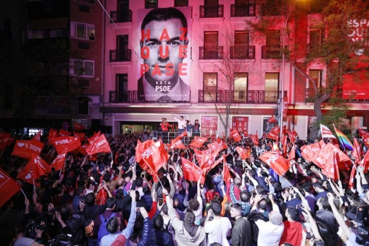 THE MORNING AFTER — A PSOE VICTORY