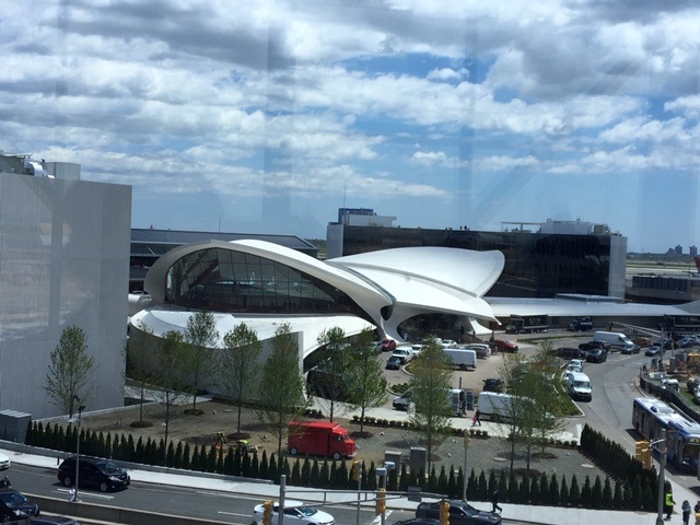 The TWA Hotel:  Up, Up and Away!