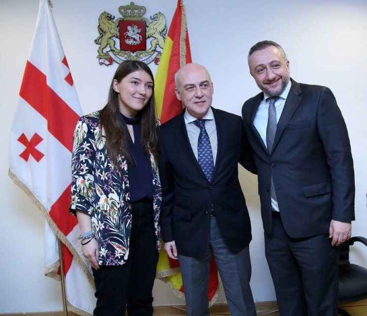 MEET THE GEORGIAN YOUNG AMBASSADOR TO THE KINGDOM OF SPAIN, TAMARA ARVELADZE!