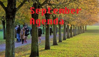 FOLKS ARE BACK FROM SUMMER VACATION! AMERICAN CLUB ANNOUNCES ANNUAL GENERAL MEETING