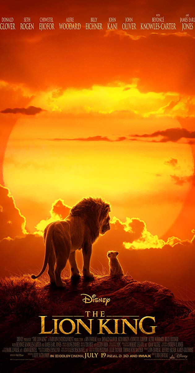 "BLOCKBUSTER ""THE LION KING"" NOW SHOWING THROUGHOUT SPAIN"