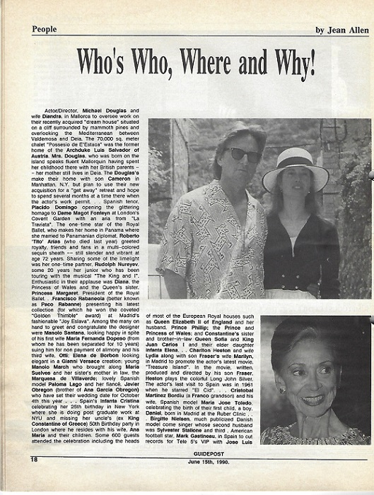 "A GUIDEPOST REPRINT: ""Who's Who, Where and Why!,"" 15 JUNE 1990"