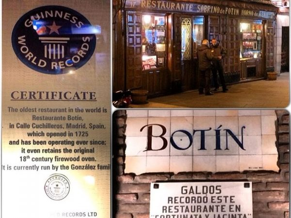 BOTIN: TAKE IT OR LEAVE IT BUT IT'S THE OLDEST AND ONE OF THE BEST RESTAURANTS IN THE WORLD!
