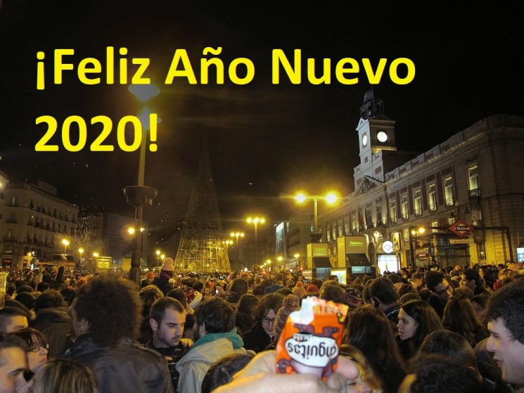 NEW YEAR 2020 IN MADRID: IT MAKES SENSE TO MIX PRUDENCE WITH FUN!