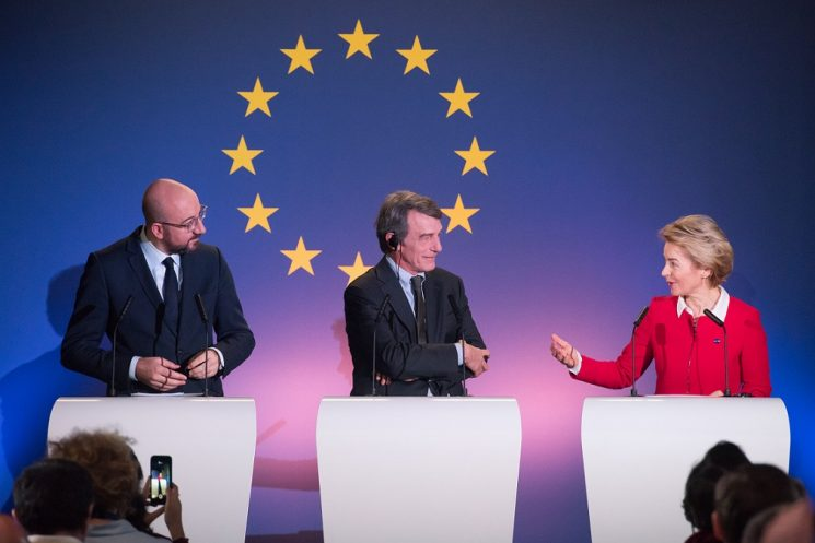 "BREXIT SERIES: (2) ""A New Dawn for Europe,"" Joint op-ed by President von der Leyen, President Michel and President Sassoli"