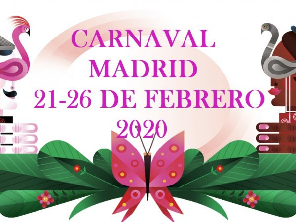 YOU'RE IN MADRID? IT'S CARNIVAL TIME! JOIN THE PARTY!