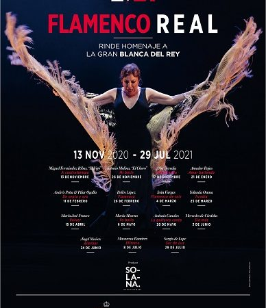 """THIS YEAR'S """"FLAMENCO REAL"""" PAYS TRIBUTE TO BLANCA DEL REY, MUSE OF SPANISH DANCE!"""
