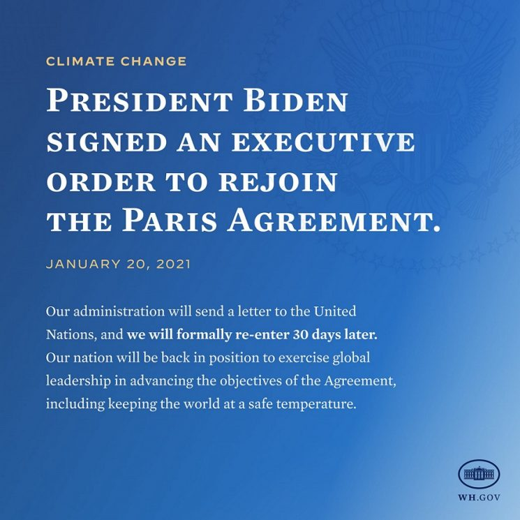 A SECOND OPINION: Biden to Spend on Climate Change
