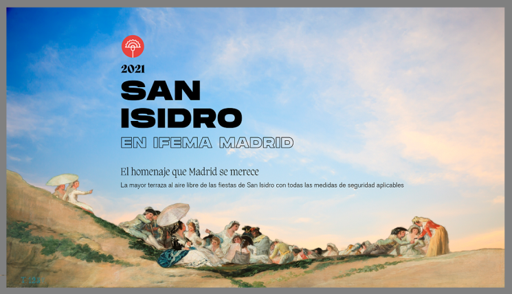 SAN ISIDRO GETS A ROUSING WELCOME-BACK (IN PANDEMIC FORMAT)
