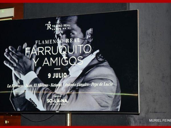 """""""FARRUQUITO Y AMIGOS"""" IN THE TEATRO REAL"""