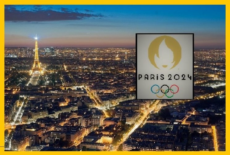 """THE BATON GOES TO PARIS FOR AN OLYMPICS """"FOR THE PEOPLE"""""""